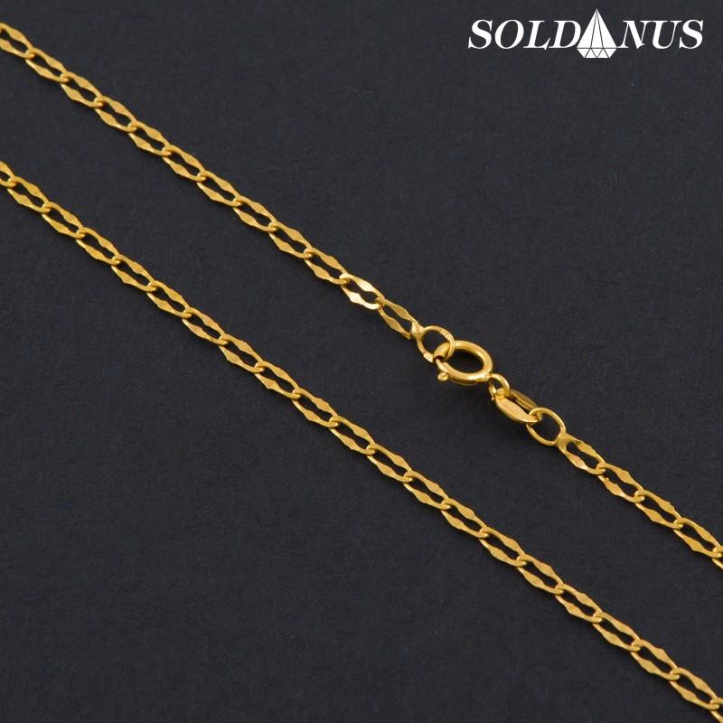 Zlatá retiazka 420mm