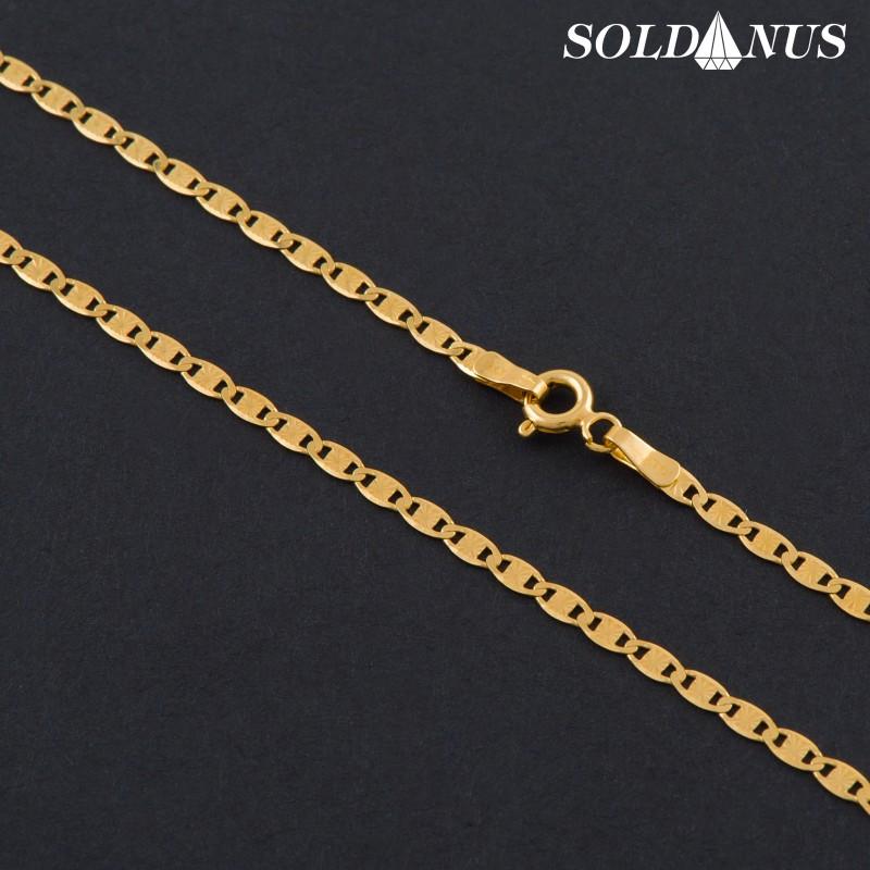 Zlatá retiazka 550mm