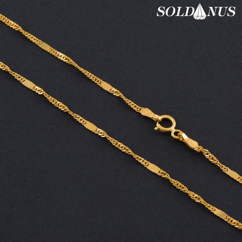 Zlatá retiazka 450mm