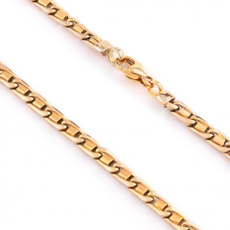 Zlatá retiazka 60cm, Hrúbka: 5,5mm