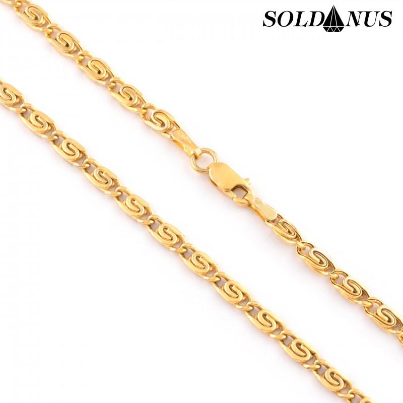 Zlatá retiazka 40cm