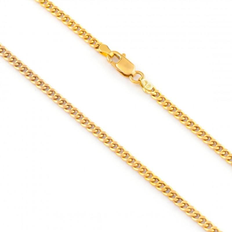Zlatá retiazka 42cm