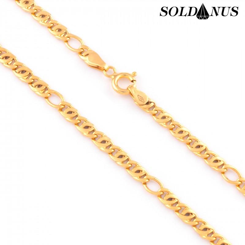 Zlatá retiazka 50cm