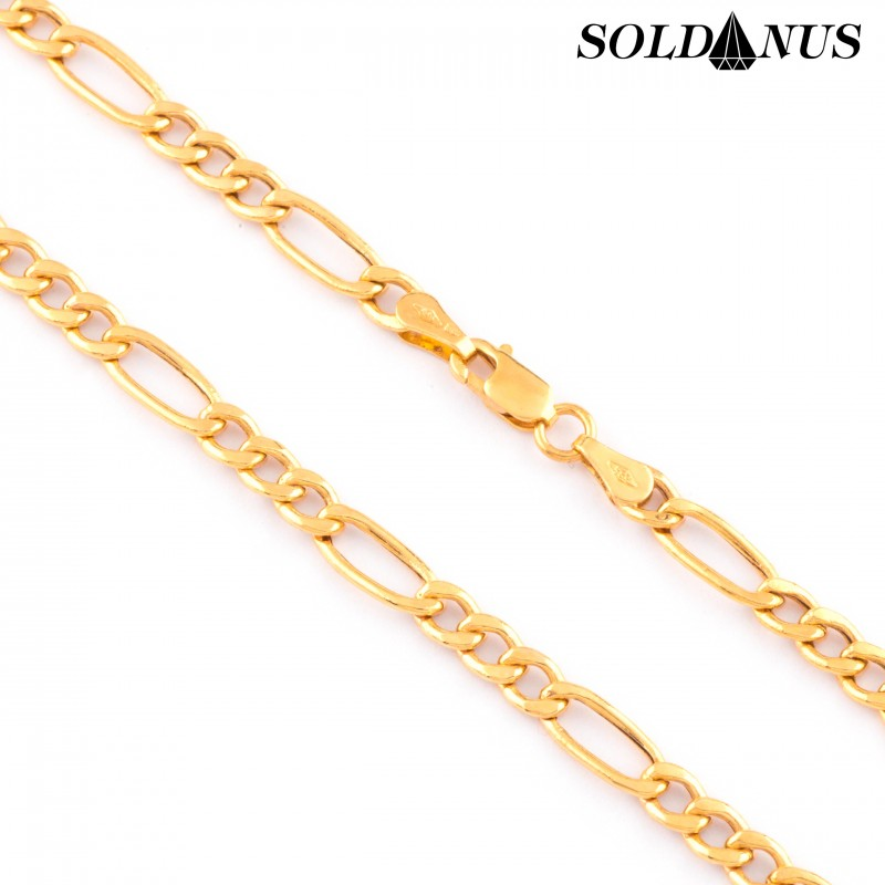 Zlatá retiazka 55cm