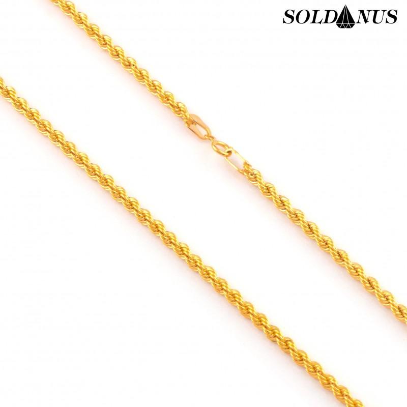 Zlatá retiazka 45cm