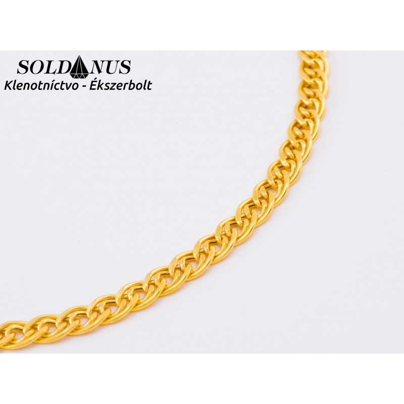 Zlatá retiazka 600mm